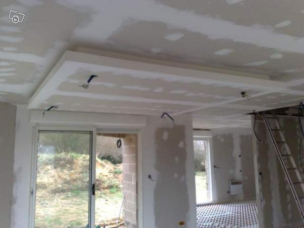 Placo pose de cloisons doublages carrelage et faience - Plafond decoratif ...